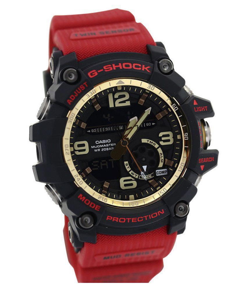 fc38a8121 Casio G-Shock MudMaster Twin Sensor GG-1000 Watch Unisex Resin Analog- Digital ...