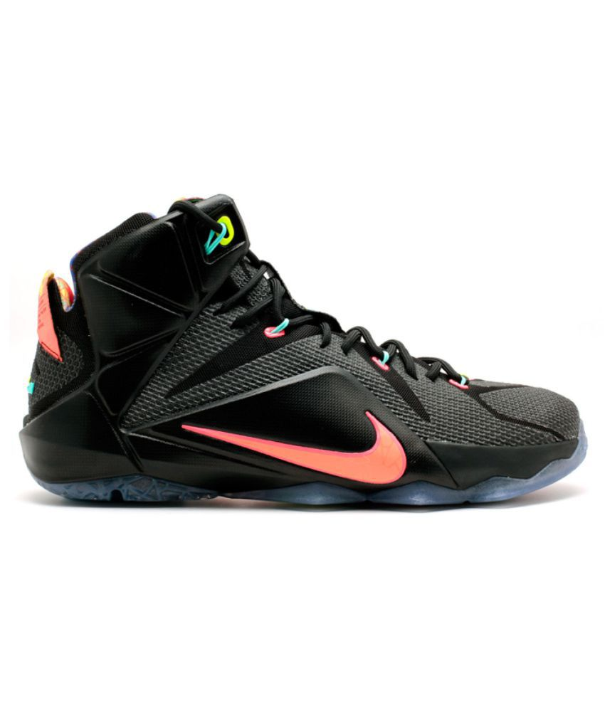 836ee3b52 Nike Lebron 12 Multi Color Basketball Shoes - Buy Nike Lebron 12 Multi  Color Basketball Shoes Online at Best Prices in India on Snapdeal