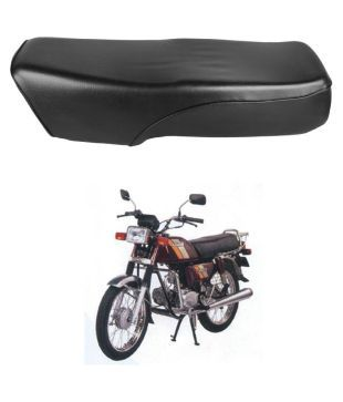 c084e083607 Autofy Premium Quality Bike Seat Assembly For Hero Honda CD 100 SS (Black)