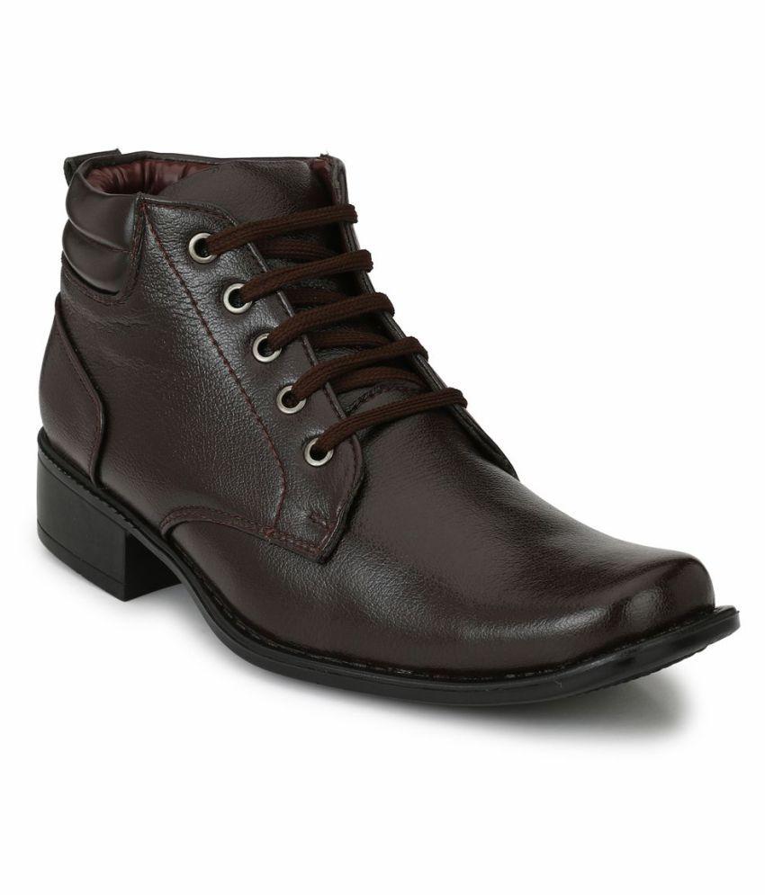 Mactree Brown Formal Boot