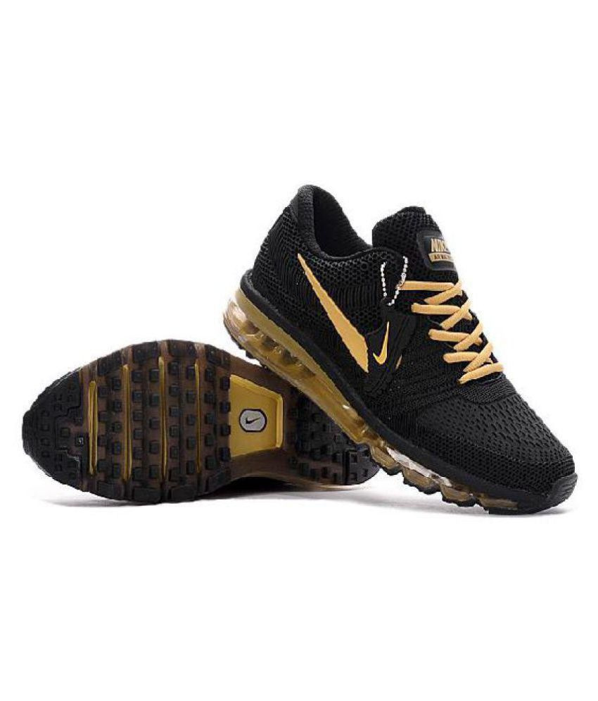 super popular 13e60 cfd1f ... Nike Air Max 2017 Rubber Premium SP Gold Running Shoes ...