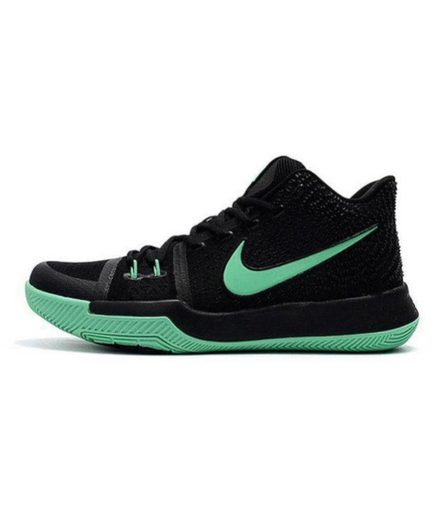 new style c3359 4d1f1 Nike KYRIE 3 Black Basketball Shoes Nike KYRIE 3 Black Basketball Shoes ...