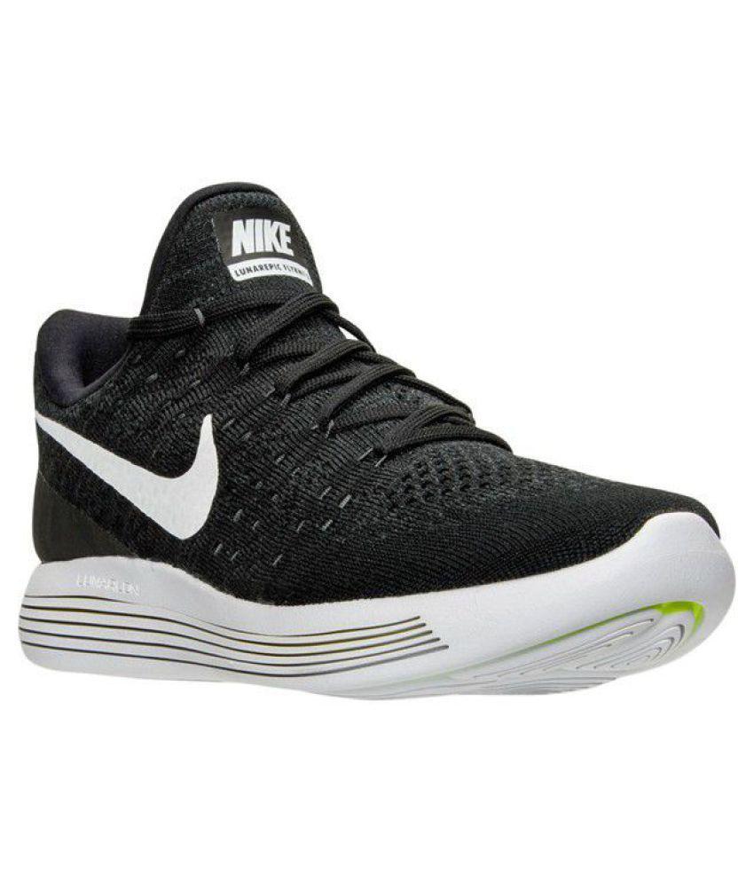 7e82549a9b6a Nike Lunar Flyknit 3 Black Running Shoes - Buy Nike Lunar Flyknit 3 ...