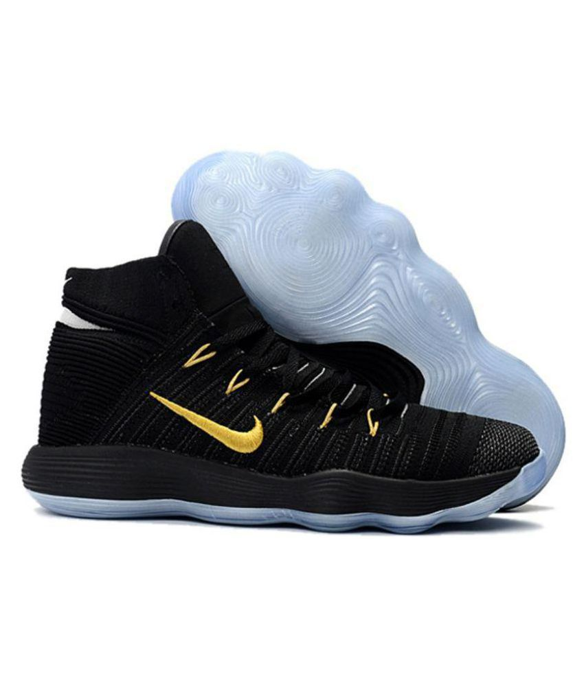 13efe2396906 Nike hyperdunk 2017 Black Basketball Shoes - Buy Nike hyperdunk 2017 Black Basketball  Shoes Online at Best Prices in India on Snapdeal