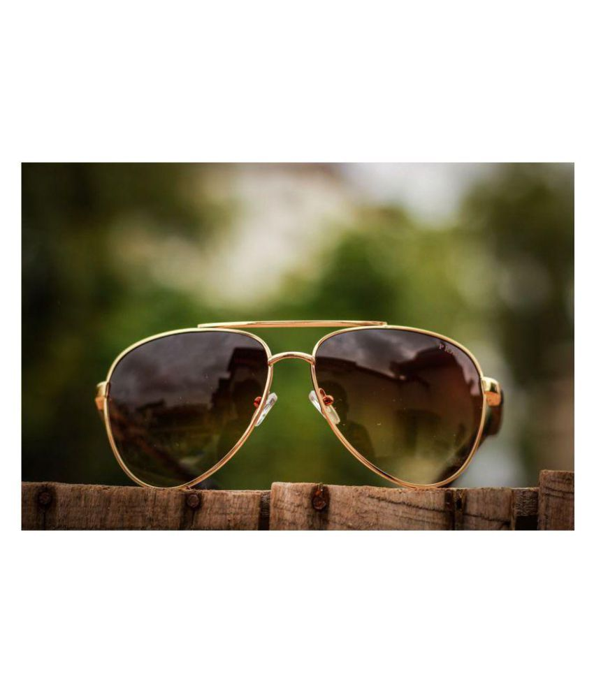 7bcfa94e45 Prada SUNGLASSES Brown Aviator Sunglasses ( P1830 ) - Buy Prada SUNGLASSES  Brown Aviator Sunglasses ( P1830 ) Online at Low Price - Snapdeal