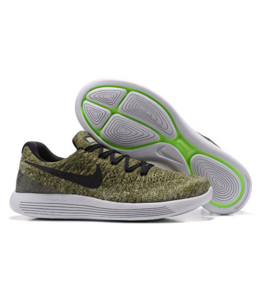 best sneakers 54a38 1a2d2 Nike LunarEpic Low Flyknit 2 Khaki Running Shoes