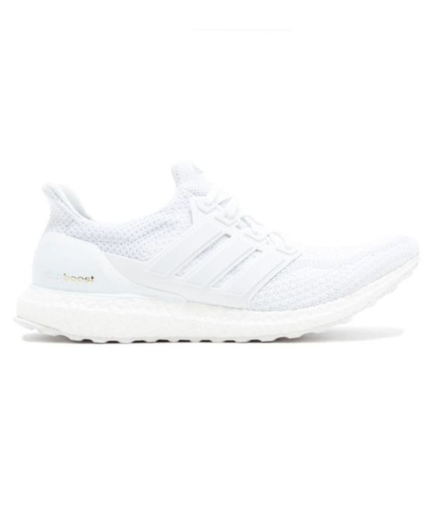 brand new 9b69c f637b Adidas Ultra Boost White Running Shoes