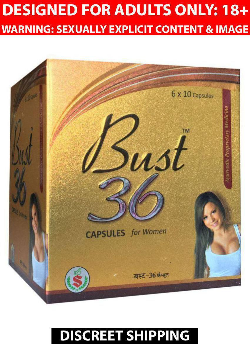Ayurveda Cure BUST 36 BREAST DEVELOPMENT HERBAL Capsules 60 no.s Pack of 2