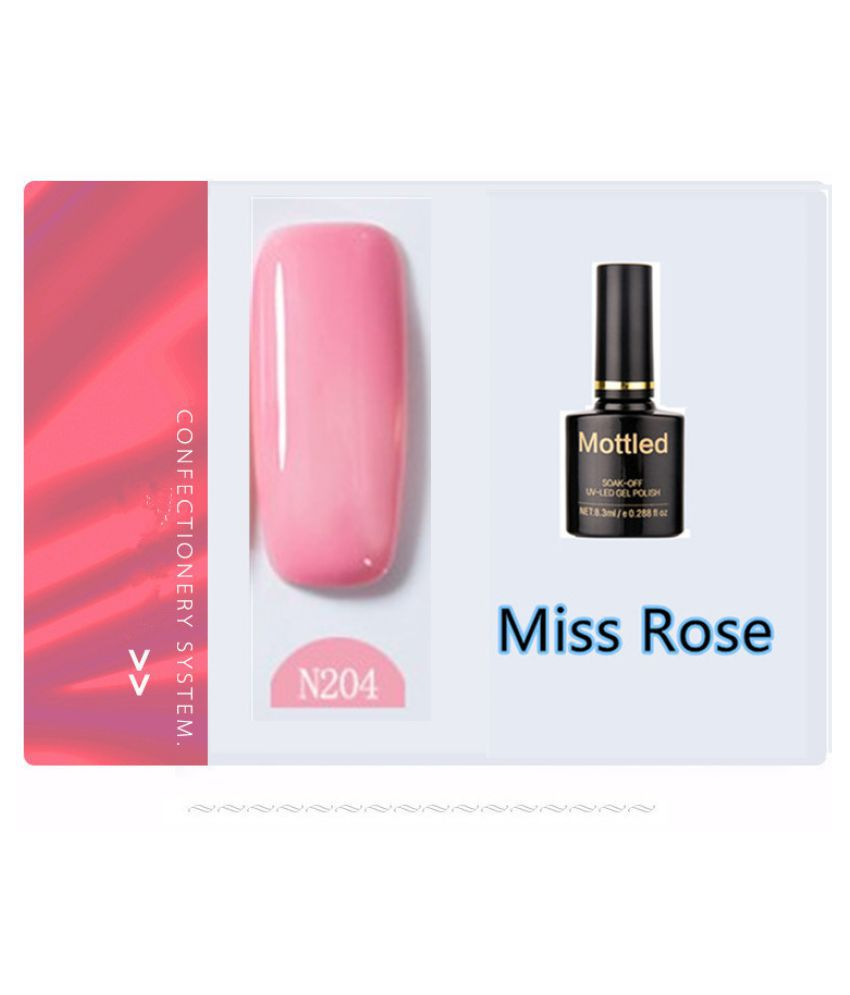 Miss Rose Nail Polish N204 As Picure Glossy 35g gm