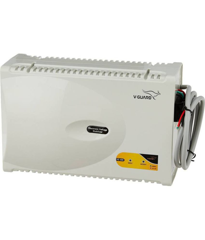 V Guard VG 400 Suitable For AC  Upto 1.5 Ton  Stabilizer