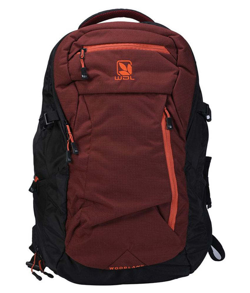 a95ecb54ac0f Woodland MAROON-BLACK TB 79226 Backpack - Buy Woodland MAROON-BLACK TB  79226 Backpack Online at Low Price - Snapdeal