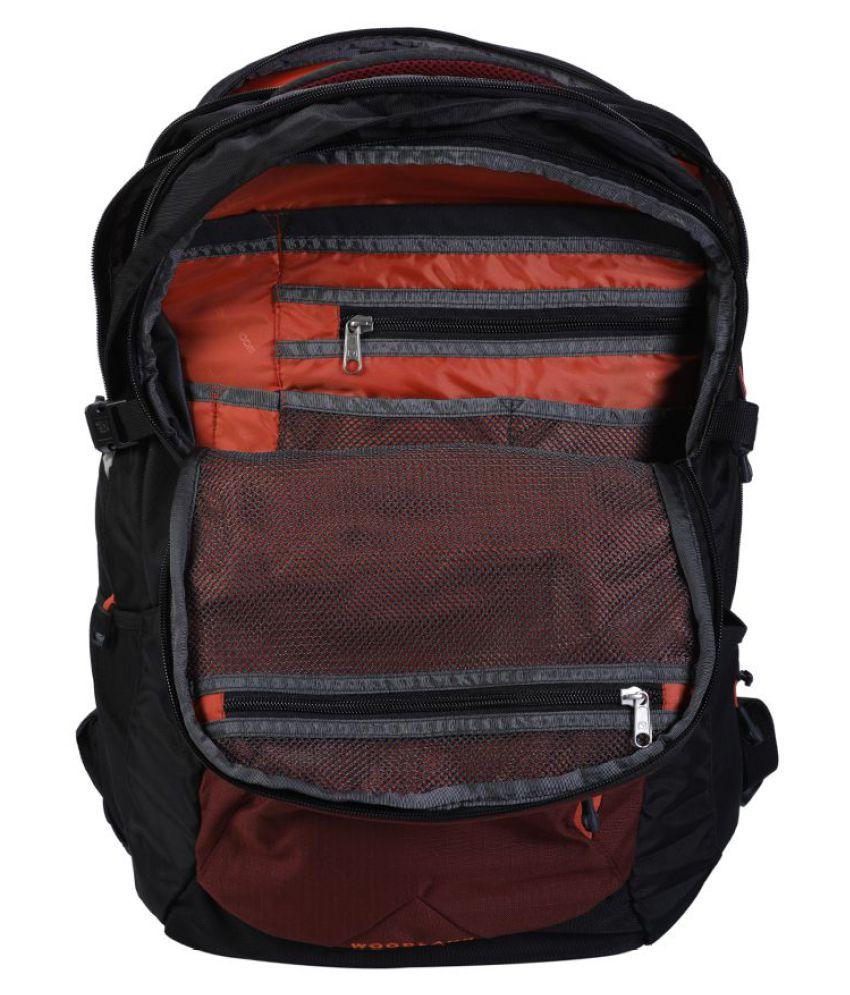 d53af570b494 Woodland MAROON-BLACK TB 79226 Backpack - Buy Woodland MAROON-BLACK ...