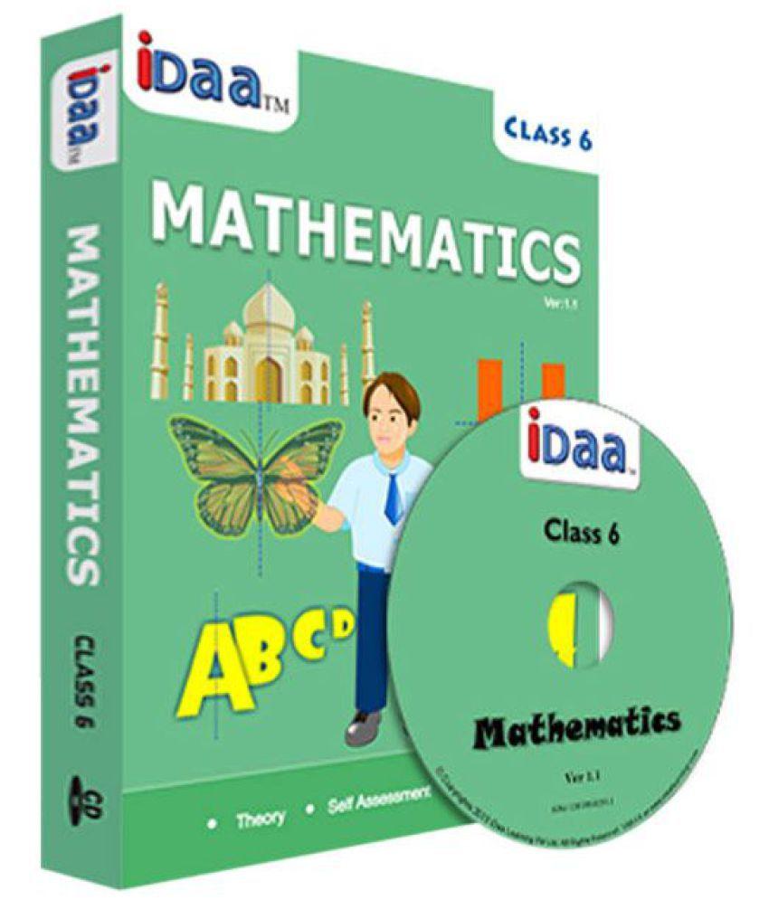 iDaa CBSE Mathematics for Class 6 CD