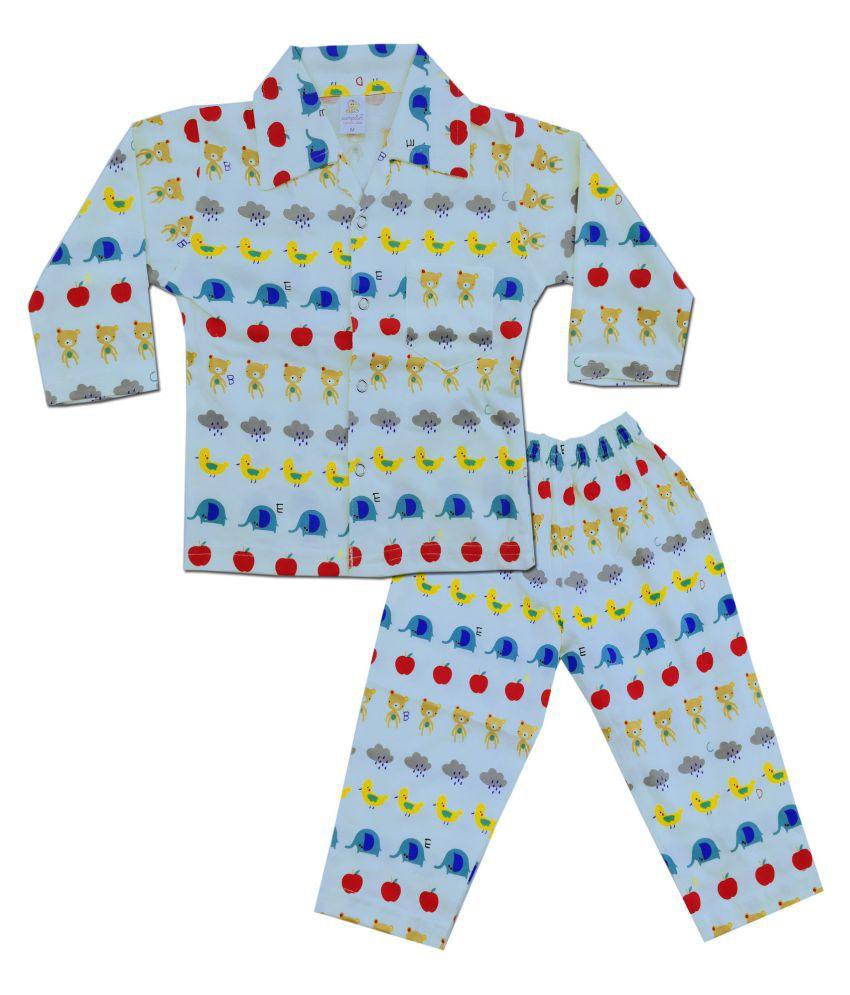 b9534be1d2c5c Kiddie Clap Night wear - Shorts Tshirt Casual wear Combo Set Or Kids/Baby  Boys ...