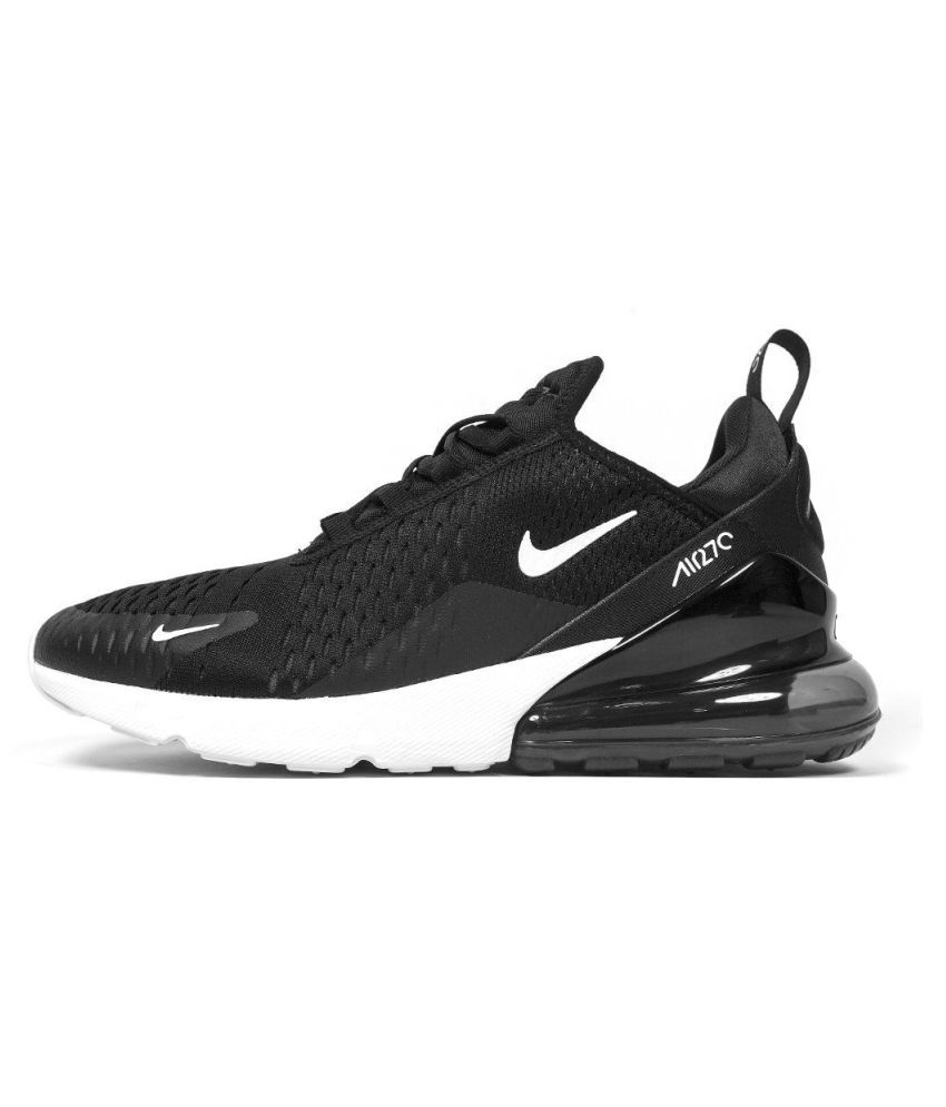 fa86a19547 Nike Air Max 270 Black Running Shoes - Buy Nike Air Max 270 Black ...