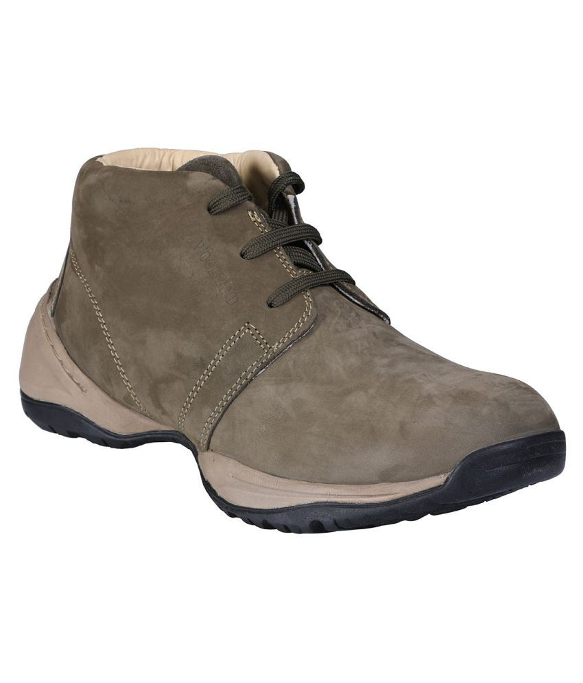 Woodland Green Casual Boot
