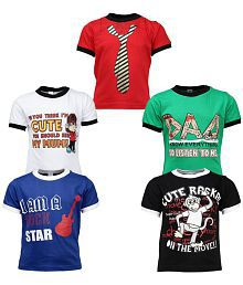 4ff064ca775b Quick View. Gkidz Boys Pack of 5 Printed T-shirts