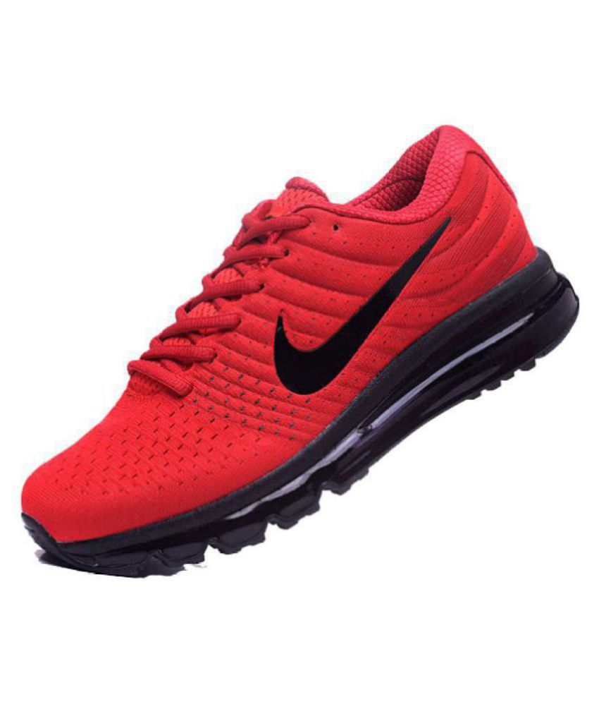 Buy Nike Running Shoes 2017 Airmax Red Twnxfn8qSX