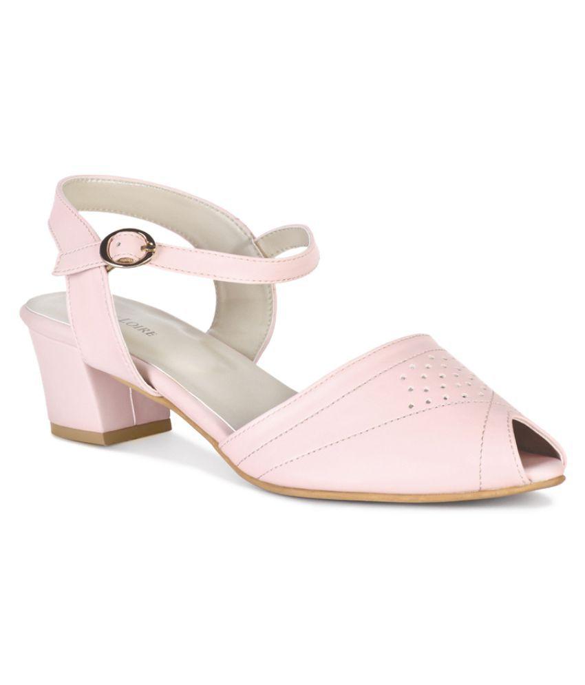 MARC LOIRE Pink Platforms Heels