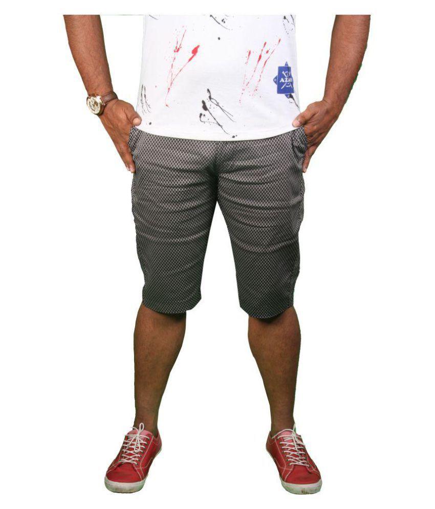 Azar Black Shorts