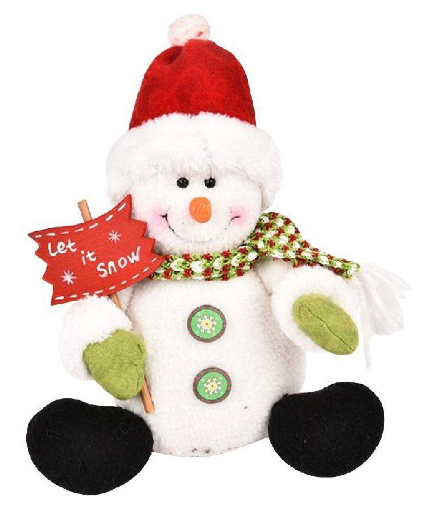 Fashion Christmas Santa Claus Snowman Doll Dolls Plush Toys ...