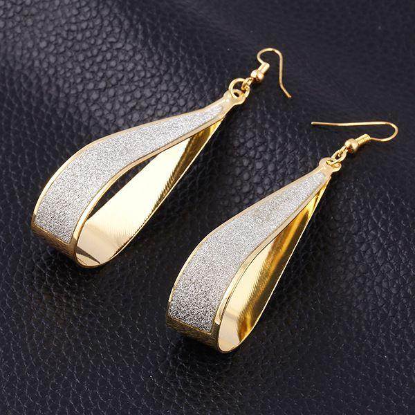 Sterling Hoop Dangle Earring