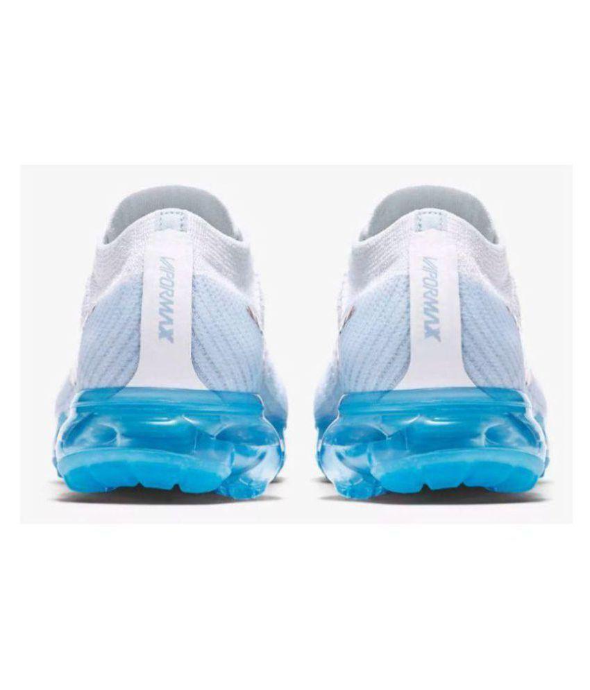 16d01377bd042 Nike AIR VAPORMAX FLYKNIT White Running Shoes - Buy Nike AIR ...