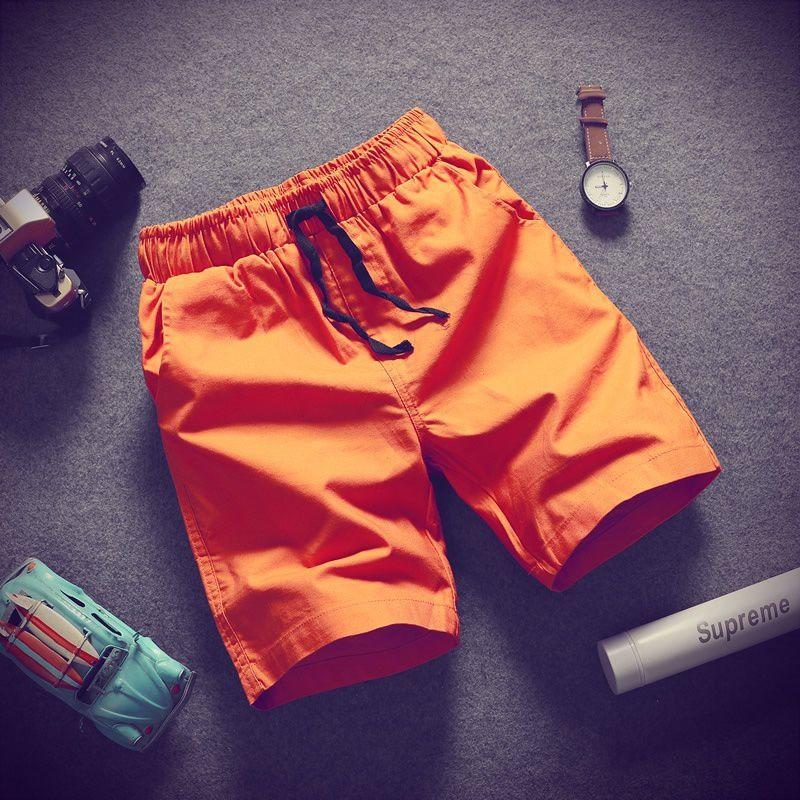 Changing Destiny Orange Shorts