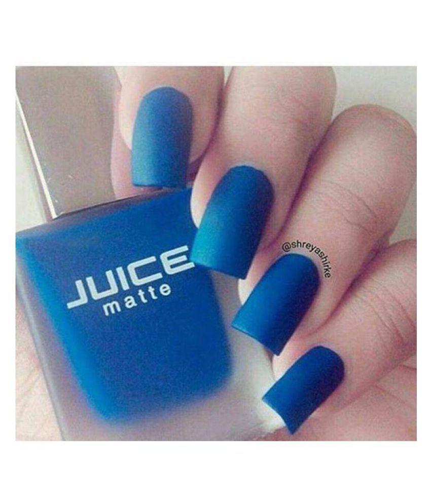 Juice Nail Polish assorted Matte Red, Blue & Black Set of 3 - Matte ...