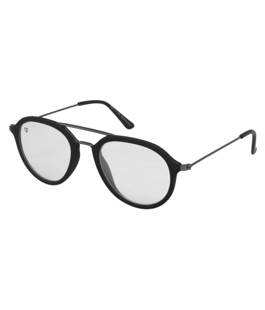 Walrus - Clear Round Sunglasses ( WS-HNY-010218D )