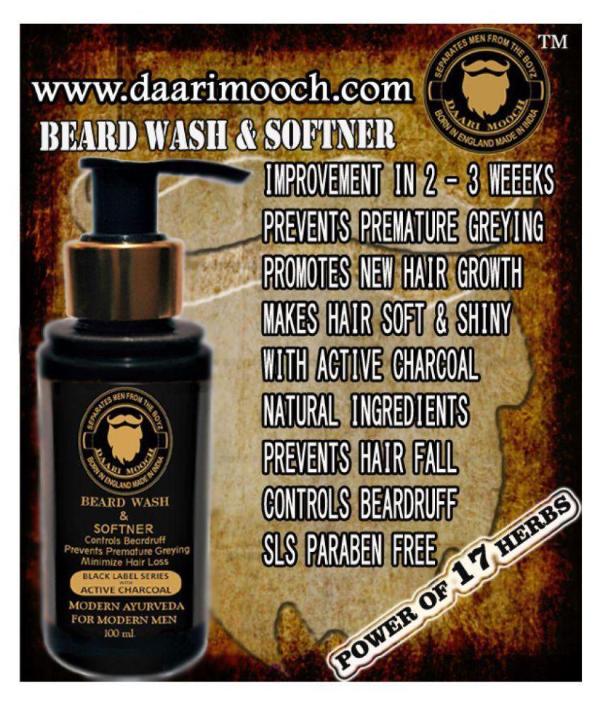 DAARIMOOCH Beard Growth Kit Beard Shampoo 150 gm Pack of 3