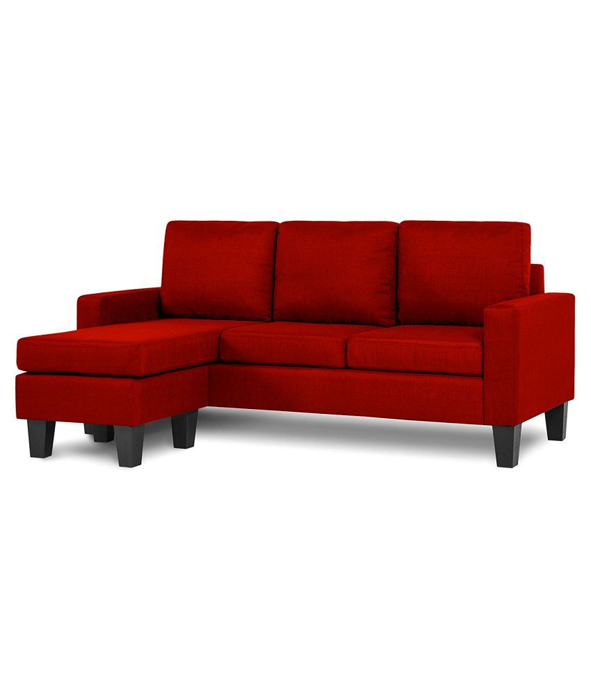Fabbulls Jeffery L Shape Sofa Set
