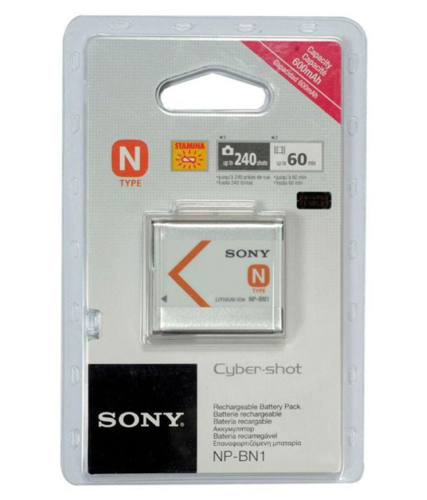 Sony NP BN1 600 Rechargeable Battery 1
