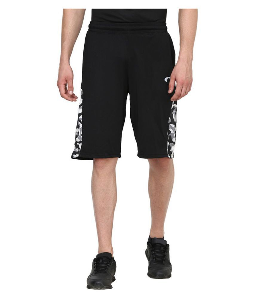 Arcley Black Shorts