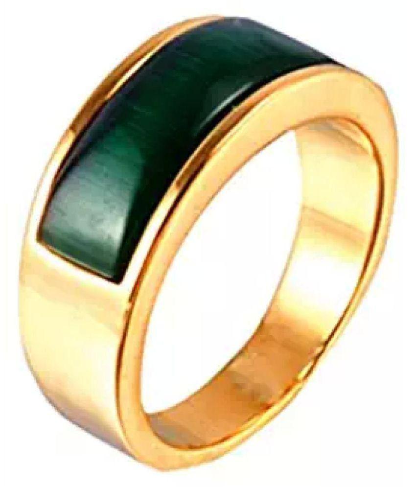 9696ee43986159 Jaipur Gemstone 10k Gold Emerald Ring: Buy Jaipur Gemstone 10k Gold ...