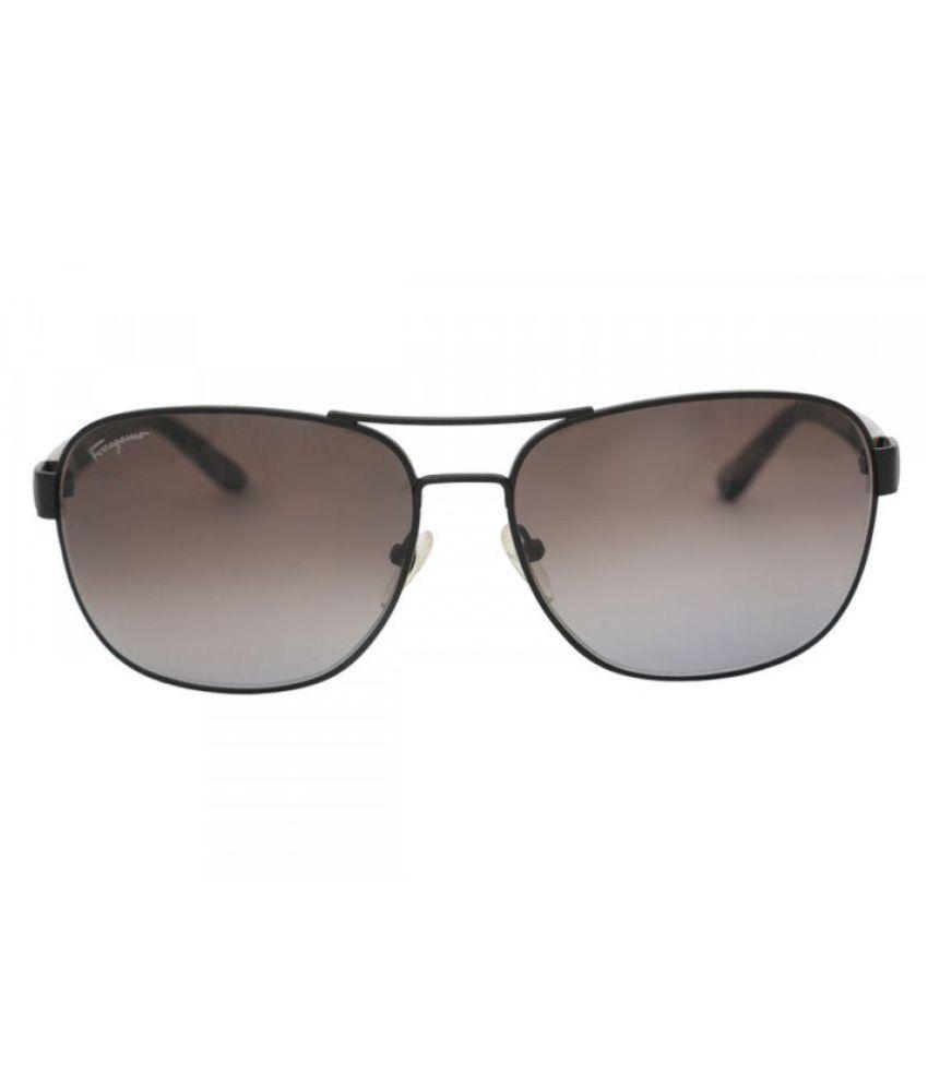 Salvatore Ferragamo S.p.A. Grey Aviator Sunglasses ( SF139SA 002 61 )