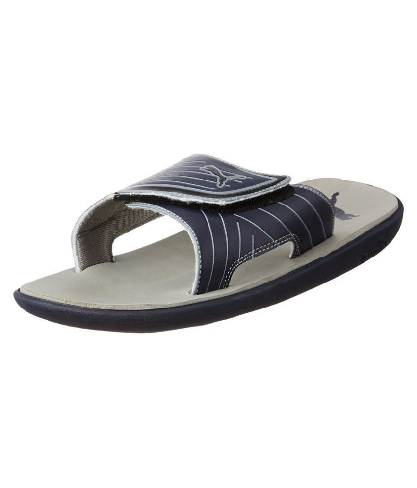 first rate 05920 0a3af Puma Bow Cat IDP Gray Slide Flip flop Price in India- Buy ...