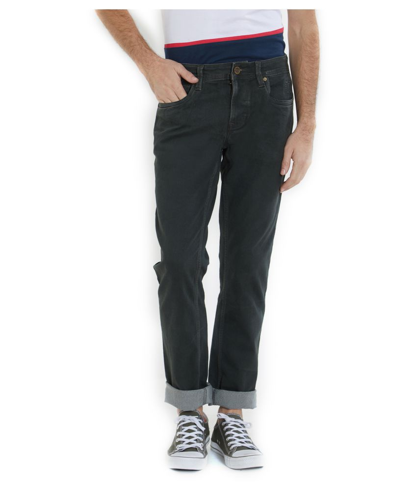 Integriti Green Slim Jeans
