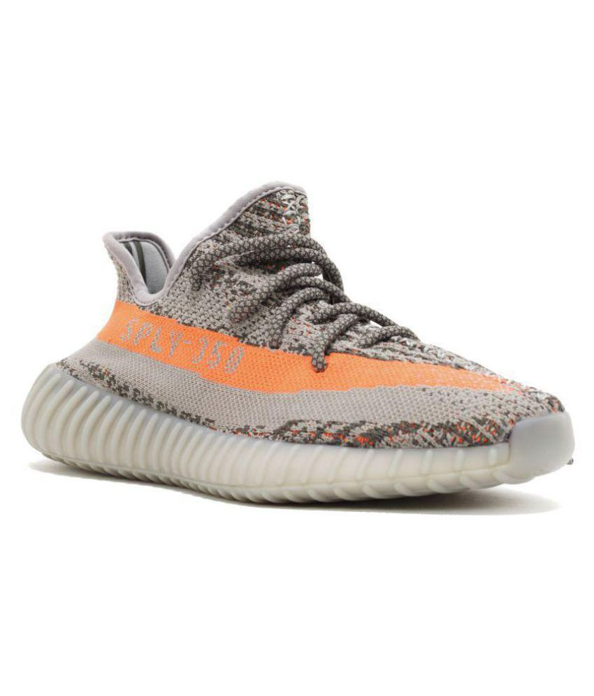 342568c85 Adidas Yeezy Boost 350 Gray Running Shoes - Buy Adidas Yeezy Boost 350 Gray Running  Shoes Online at Best Prices in India on Snapdeal