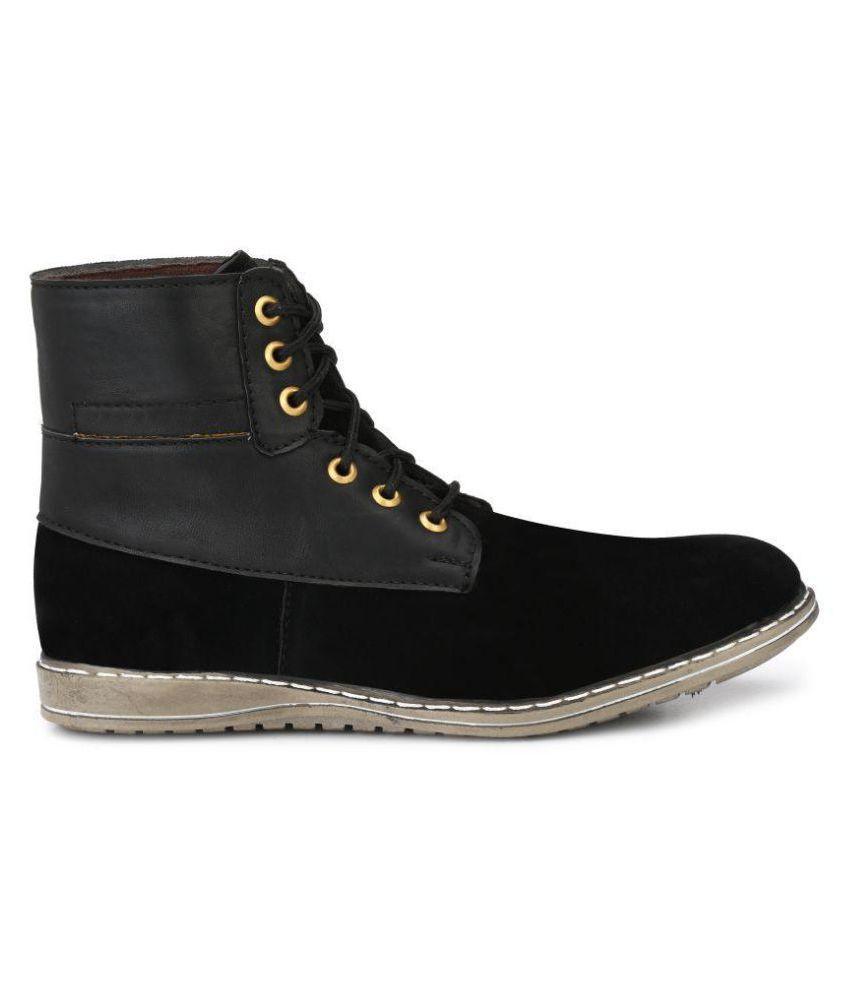 Big Fox Black Casual Boot