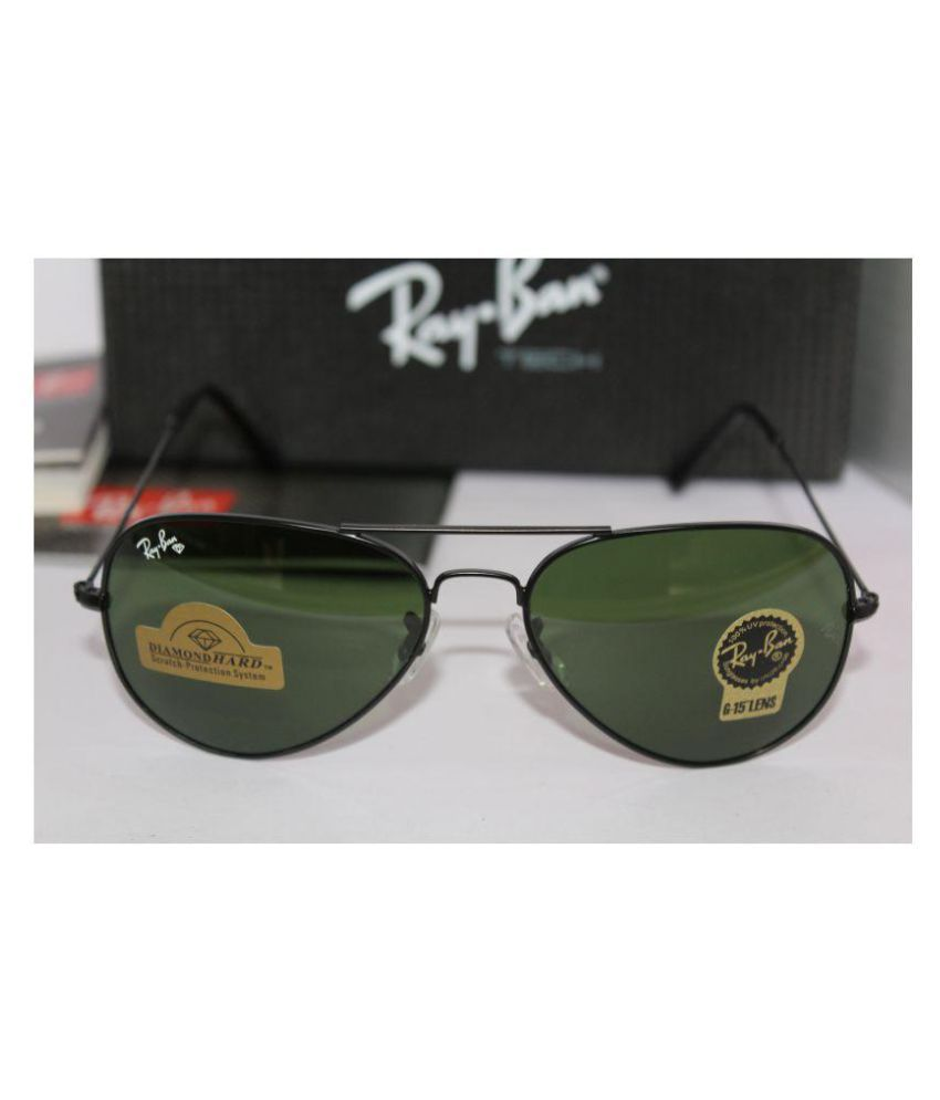 51cb5e27f4333 Ray Ban Sunglasses Green Aviator Sunglasses ( RB3025 ) - Buy Ray Ban ...