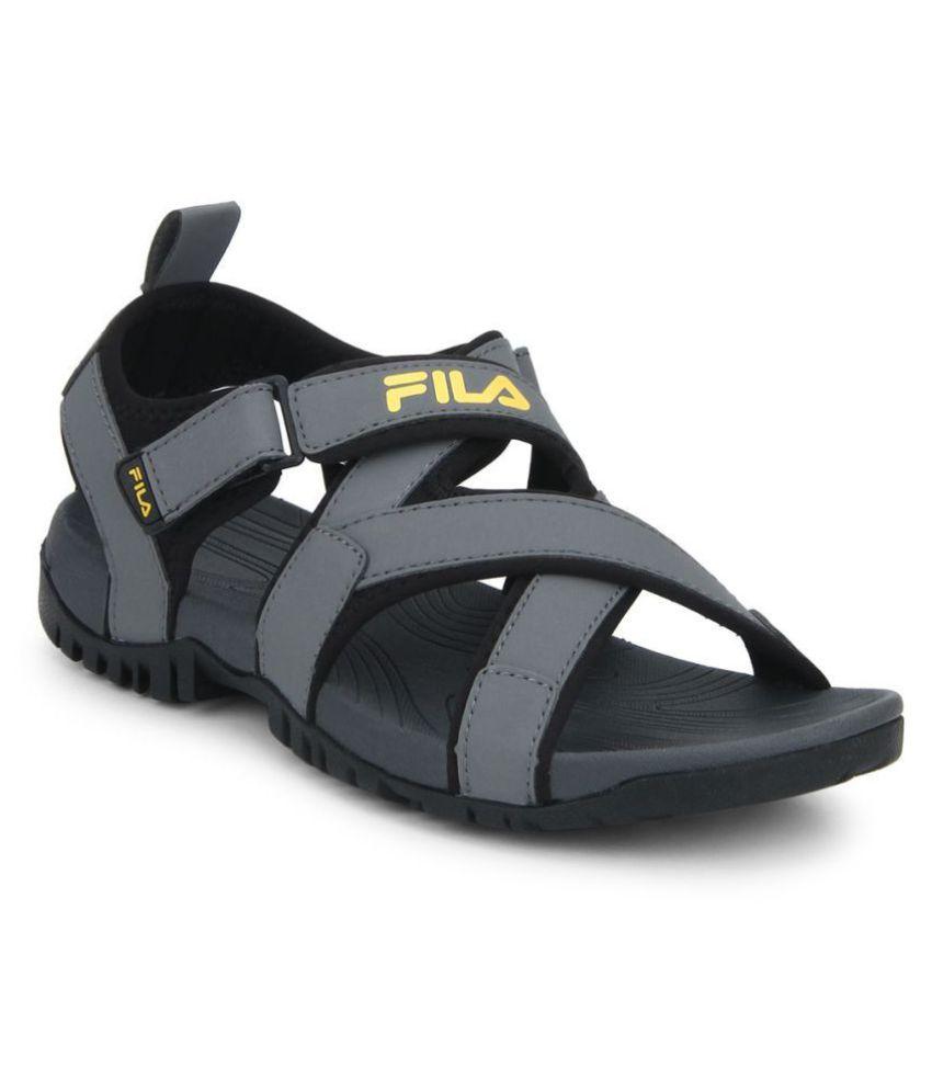 Buy Fila PACIFIC II Gray Mesh Floater