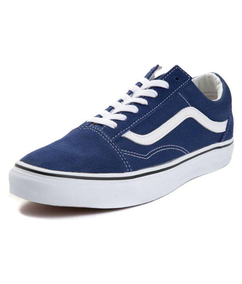 21ec274caf VANS Old Skool Lampin 2 Tone Suede Sneakers Navy Casual Shoes - Buy VANS  Old Skool Lampin 2 Tone Suede Sneakers Navy Casual Shoes Online at Best  Prices in ...