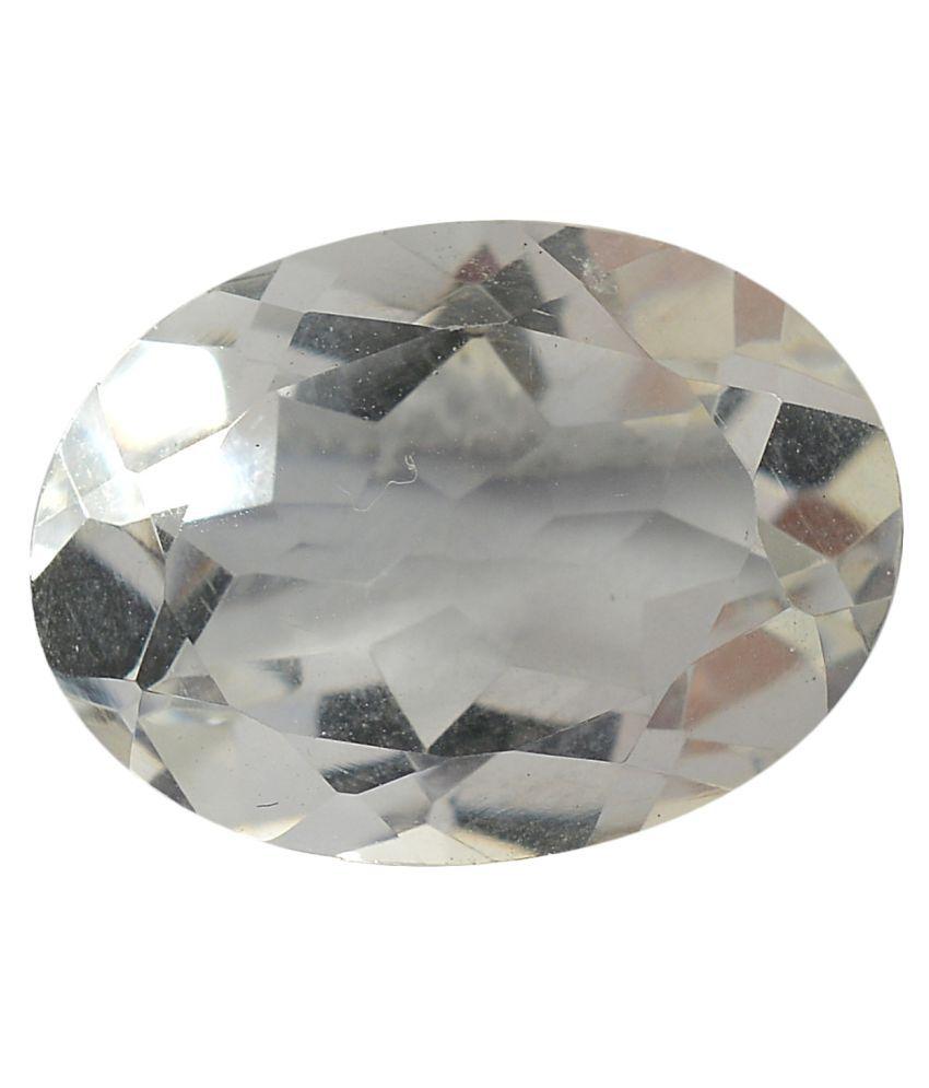 pitliya jewellers 11 -Ratti Self certified White Quartz Semi-precious Gemstone