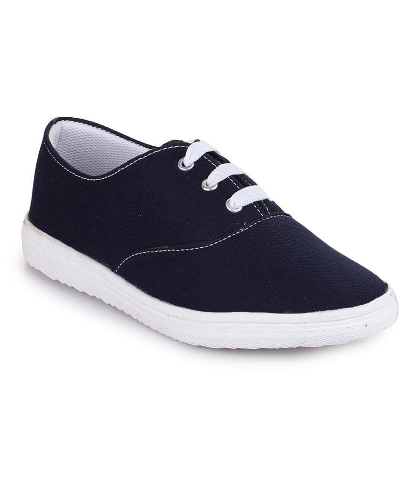 Fashtyle Blue Casual Shoes