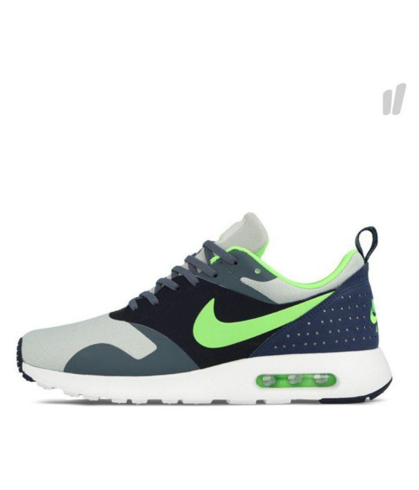 best service ed717 0c04c Nike Air Max Tavas Grey Running Shoes - Buy Nike Air Max Tavas Grey Running  Shoes Online at Best Prices in India on Snapdeal