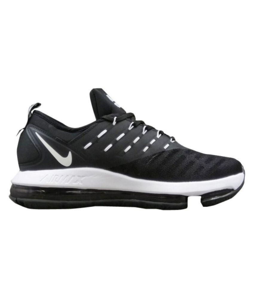 meet 82830 6d69a Nike Airmax Dlx 2018 Black Running Shoes - Buy Nike Airmax Dlx 2018 Black  Running Shoes Online at Best Prices in India on Snapdeal