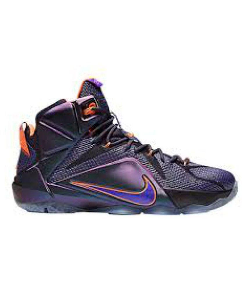 bc766fffeb0 Nike lebron james 12 Purple Basketball Shoes - Buy Nike lebron james ...