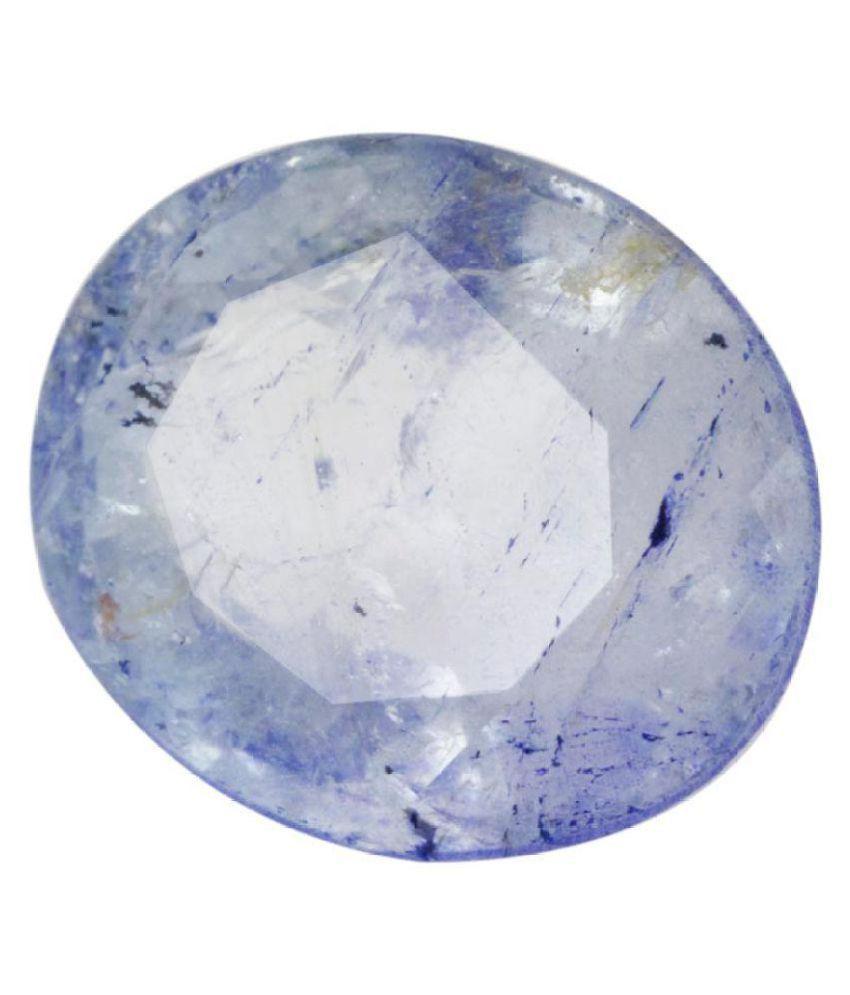 Gems Jewels Online 5.25 -Ratti IGL&I Blue Topaz Precious Gemstone