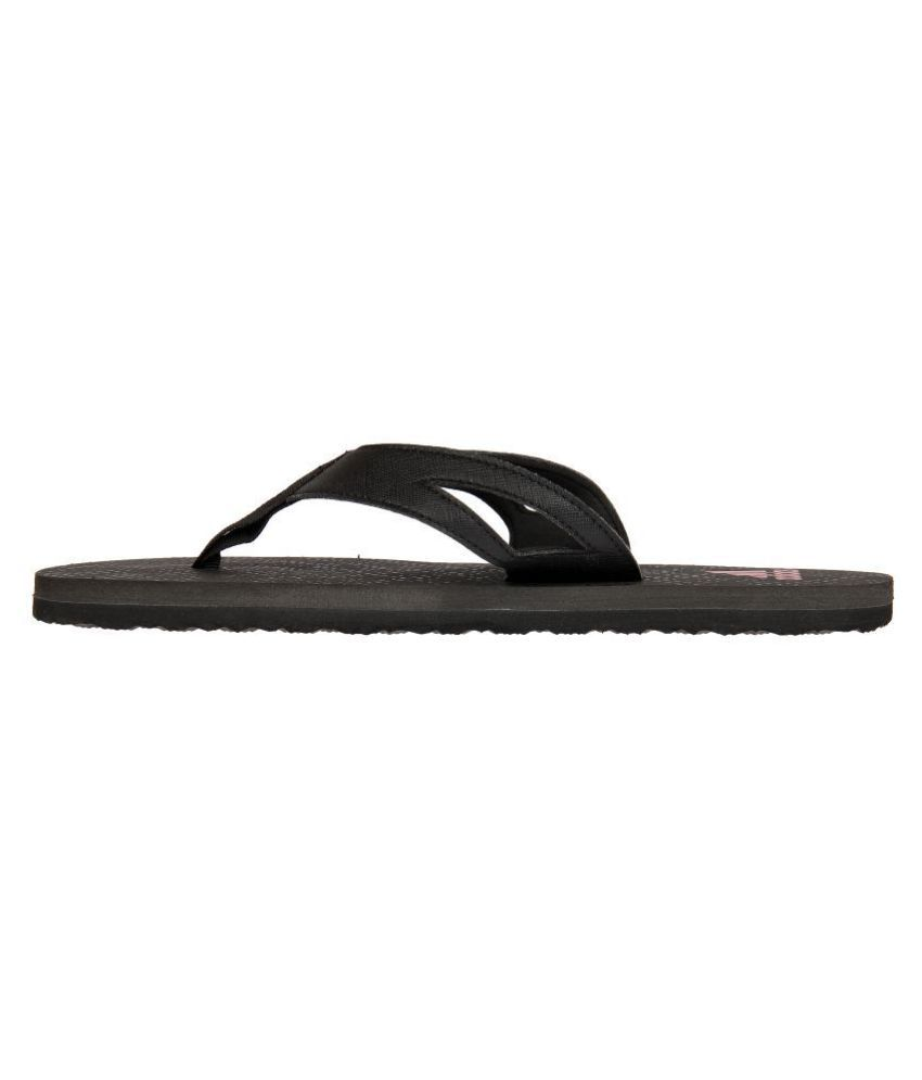 874347ac07cd67 Adidas OZOR II M Black Daily Slippers Price in India- Buy Adidas ...